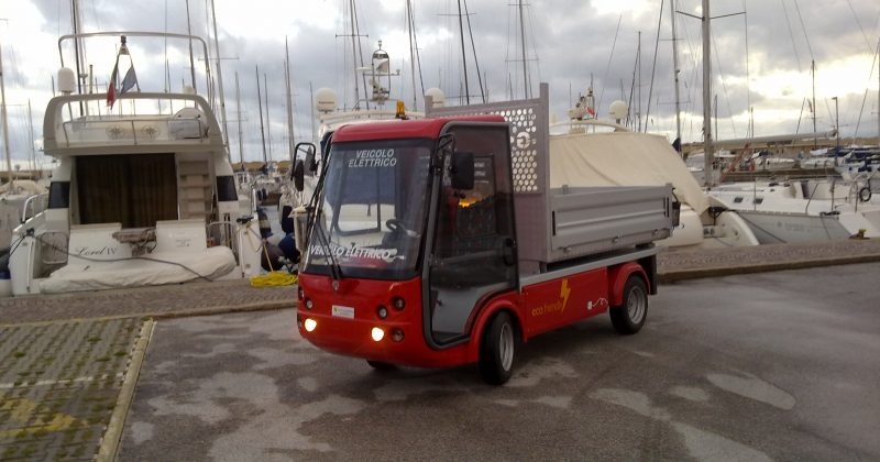 Esagano Port Electric Vehicle