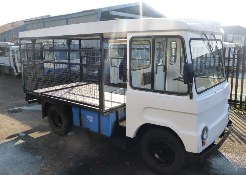 Vintage British Milk Float